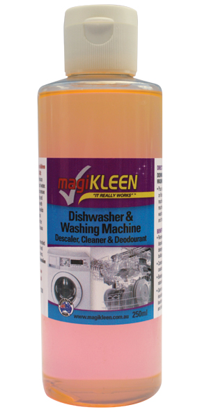 Dishwasher and Washing Machine Descaler Deodorant and Cleaner